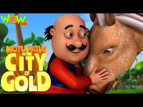 Motu Patlu In The City Of Gold | Movie | WowKidz