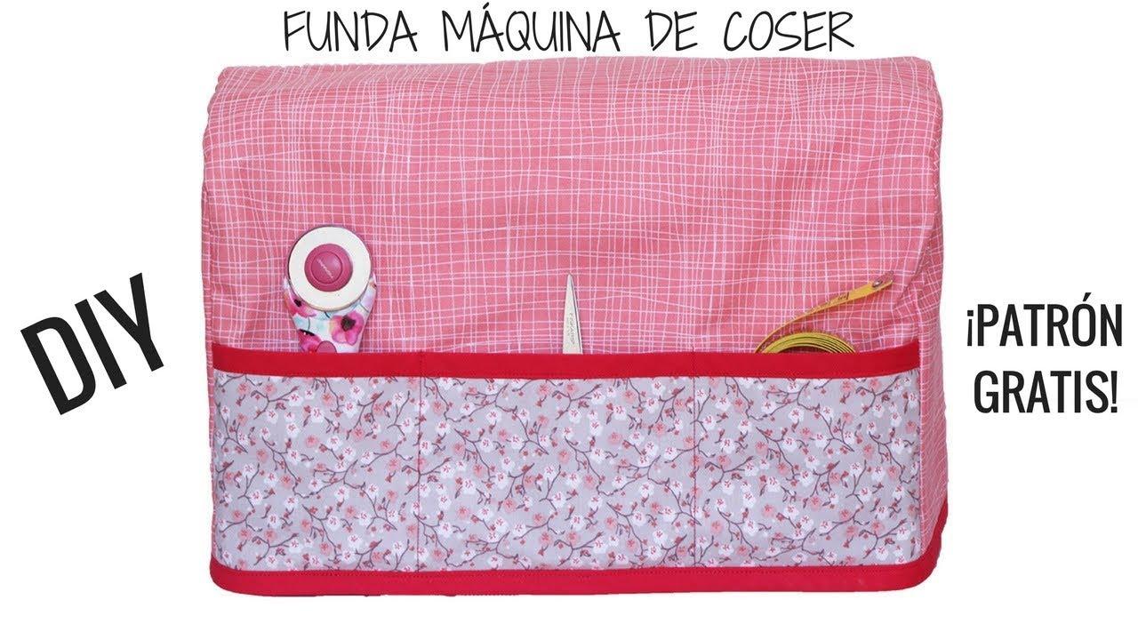 COMO HACER FUNDA PARA MAQUINA DE COSER. Patrones gratis