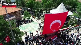 Şehit Uzman Çavuşu İsmail Cesur'un cenazesine on binlerce kişi katıldı