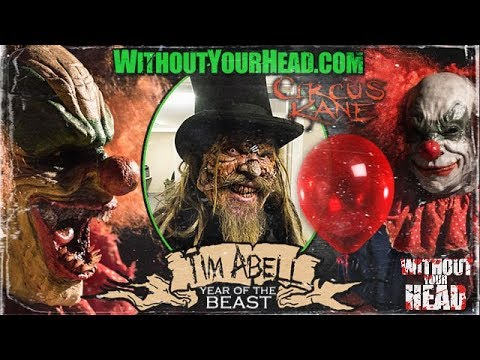 TIM ABELL of CIRCUS KANE interview Without Your Head Horror Podcast