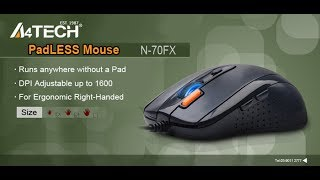 THIS MOUSE CAN WORK ANY WHERE(A4 TECH N70-FX MOUSE)