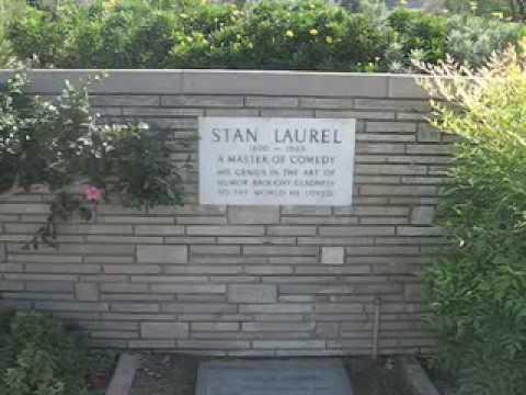 """Laurel & Hardy - """"Laurel's Grave"""" - YouTube Lauren Bacall Grave"""