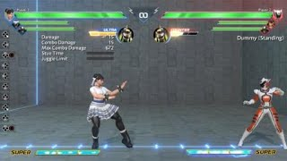 Power Rangers - Battle for The Grid input glitch 28+H = 2H