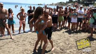 Repeat youtube video Croatia Salsa Split Festival: Beach party by SalsaSplit.com