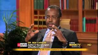 Dr. Ben Carson C-span Interview 2013