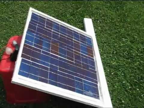Www Solarcells101 Com Free Energy Wood Frame Diy Solar