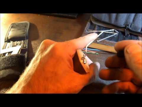 Picking an Abus 85/40 padlock (courtesy of Potti314)