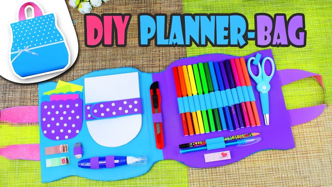image about Diy Planner Organizer named Do it yourself ORGANIZER BAG MULTI PLANNER Manual Stage By way of Stage