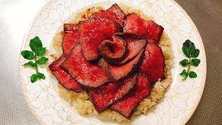 高級肉の薔薇の華・和牛のロティ丼【食戟のソーマ実写化】 thumbnail
