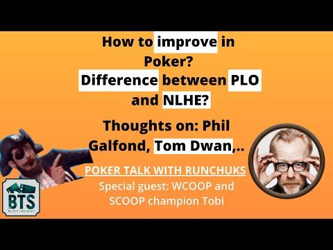 WCOOP and SCOOP Champion Tobi and Runchuks Talk about poker! - PLO Wednesday Episode 1 - 동영상