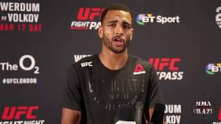 Danny Roberts wants for Donald Cerrone next at UFC Liverpool & talks KO win over Oliver Enkamp