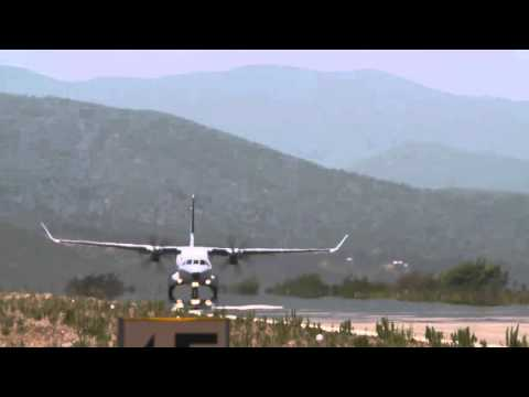 Airbus Defence and Space C295W Flight Test in Viña del Mar Chile HD