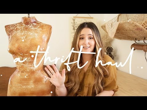 * TRY-ON THRIFT HAUL *