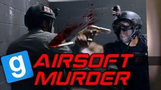 Airsoft MURDER Gmod - Blood Bath