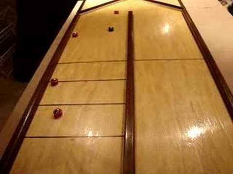 Tabletop Shuffleboard Playability - YouTube