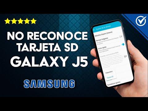 ¿Por qué mi Samsung J5 no Reconoce la Tarjeta SD? - Solución