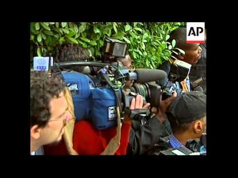 Angolan President speaks at the White House