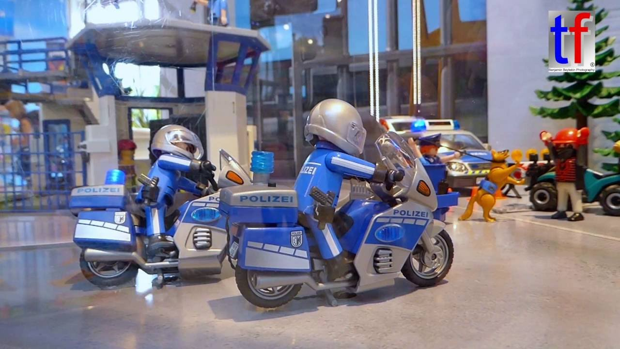 playmobil funpark shop diorama police polizei. Black Bedroom Furniture Sets. Home Design Ideas