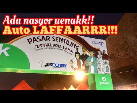 festival-kota-lama-semarang-|-pasar-sentiling-#kulinersemarang