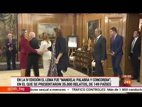 Fundación César Egido Serrano - Audiencia a los ganadores en Casa Real