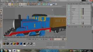 Cinema 4D | Thomas The Tank Engine Model Download