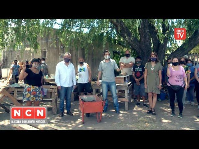CINCO TV - Julio Zamora visitó una huerta comunitaria en Las Tunas