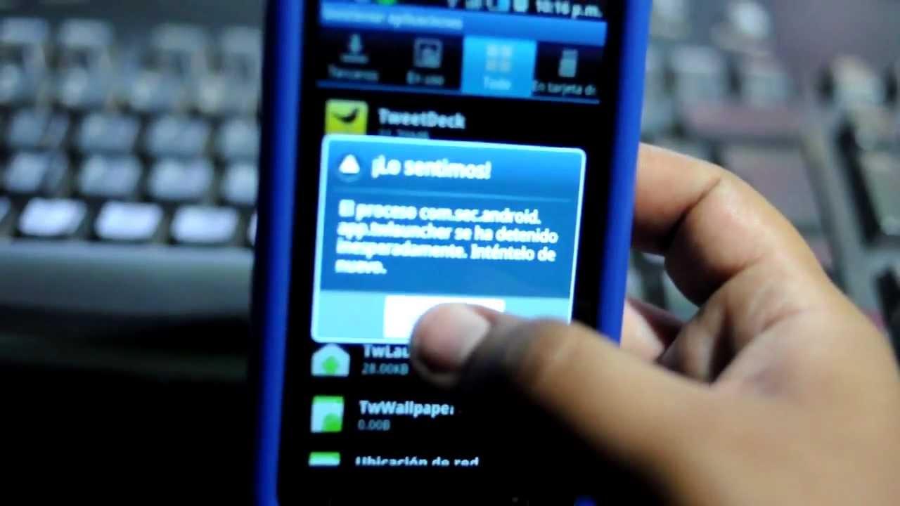 Soluci 243 N Al Error En Proceso Quot Com Sec Android App