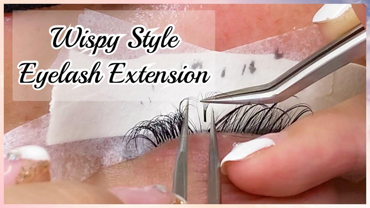 Download Wispy Eyelash Extension Full Set