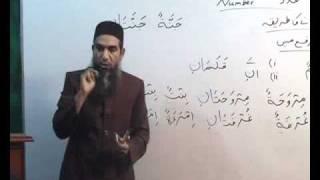 Arabi Grammar Lecture 05 Part 02    عربی  گرامر کلاسس