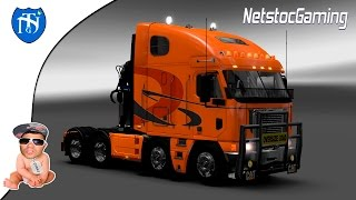 Euro Truck Simulator 2 - ETS 2 Mods Reviews Freightliner Argosy High Roof│NetstocGaming