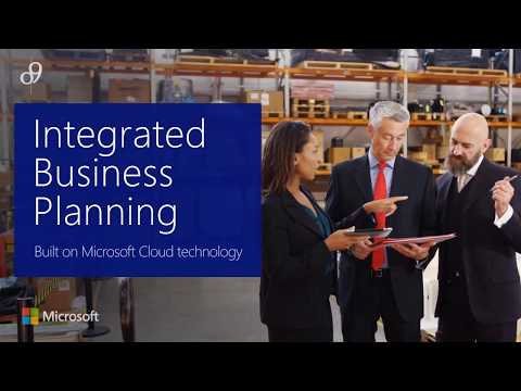 o9 Integrated Business Planning Overview Video