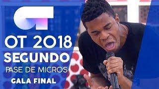 AND I AM TELLING YOU I'M NOT GOING - FAMOUS | SEGUNDO PASE DE MICROS GALA FINAL | OT 2018