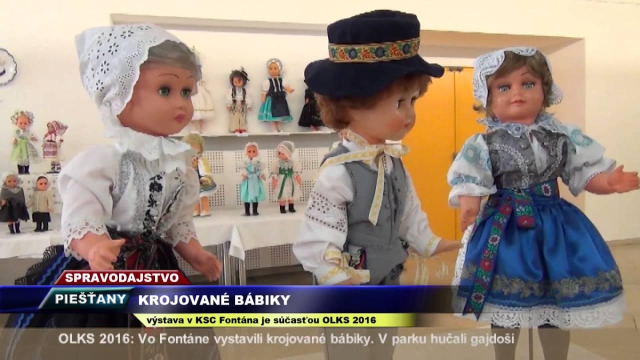e804f61e69 Vega Tv - Krojované bábiky - YouTube
