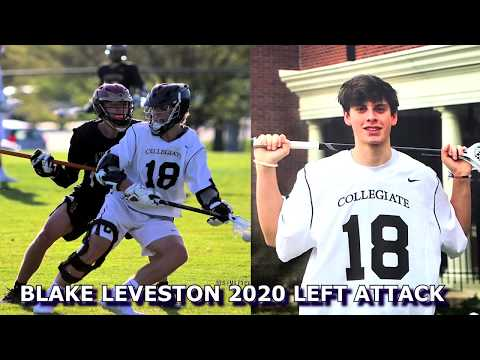 Blake Leveston Lacrosse 2020 Left Attack Video