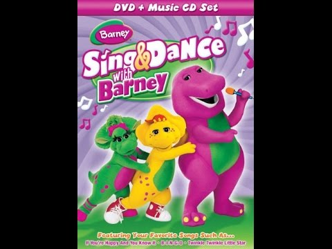 Opening To Barney Sing Dance With Barney 2009 Dvd Youtube