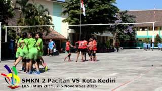 Bola Voli LKS Jatim 2015 SMKN 2 Pacitan vs Kota Kediri