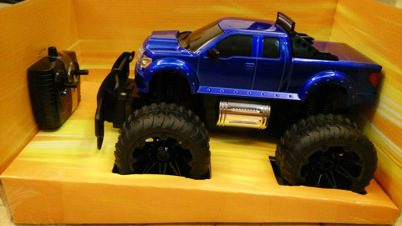 Fast Lane Rc Truck Ford F 150 Supercab Monster Truck Rc