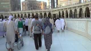 Makkah - Tawaf on the Mataf Platform