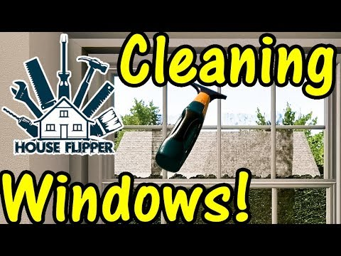 Let's Play House Flipper #23: Window Cleaning!