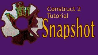 Construct 2 Tutorial Screenshots Canvas Snapshots