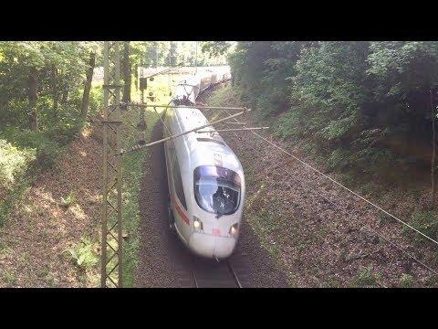 Frankfurt, Germany Trains and trams
