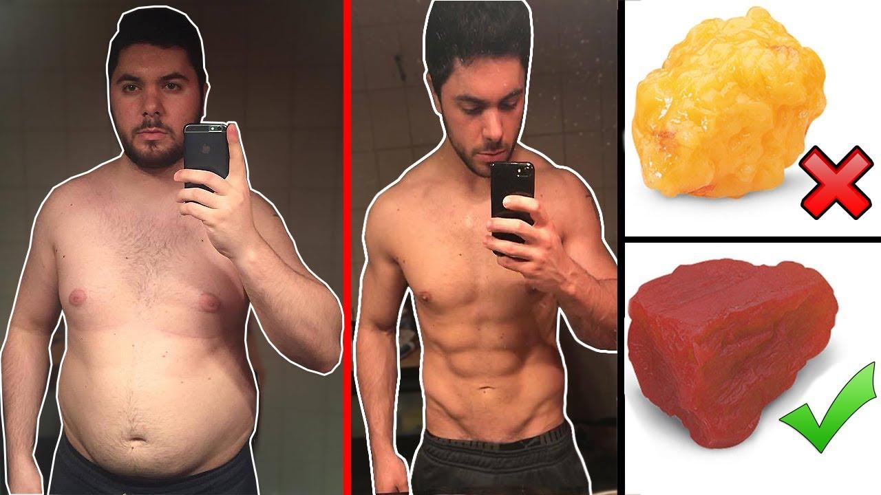 D'abord perdre du poids puis se muscler