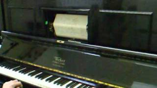 I Left My Heart at the Stage Door Canteen - Weber Pianola Piano.avi