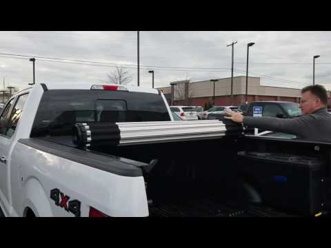 New Ford roll up aluminum tonneau cover