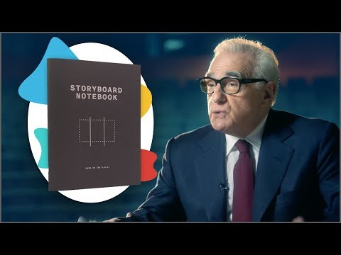 Storyboard Notebook & Martin Scorsese Has A Masterclass