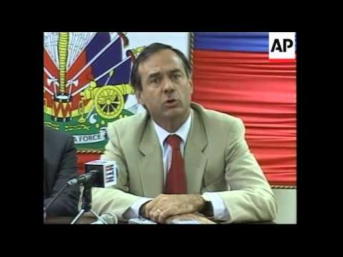 Interior minister visits as part of OAS post lobbying