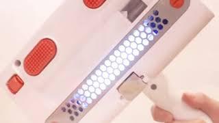 진동 자외선 침대 클리너 UV 진드기 제거 살균 청소기
