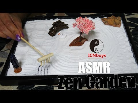 ASMR ICNBUYS Zen Garden Unboxing || NO Talking || TenaASMR ♡