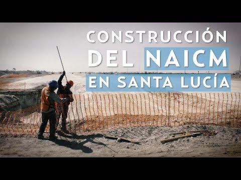 Construcción del NAICM