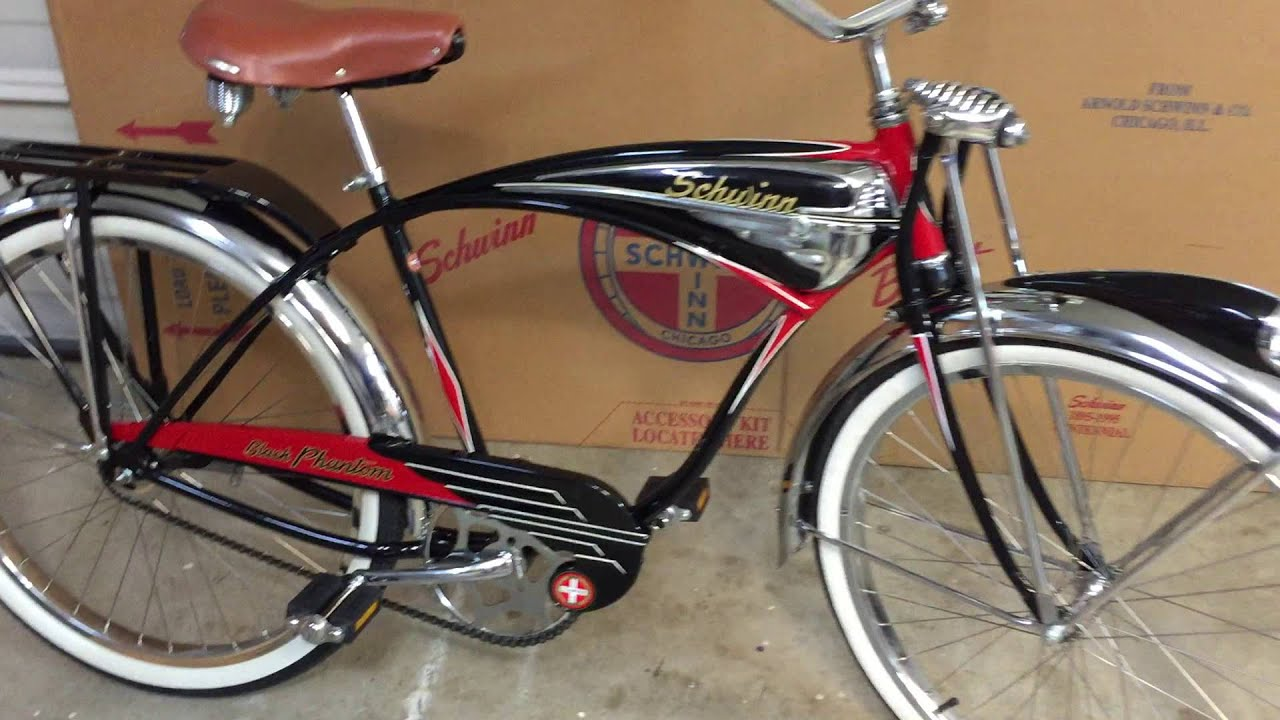 9e14bcdabb8 1995 Schwinn Black Phantom 100th Anniversary Bike - YouTube